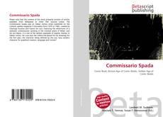 Bookcover of Commissario Spada