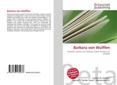 Bookcover of Barbara von Wulffen