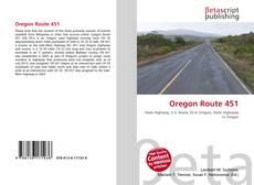 Bookcover of Oregon Route 451