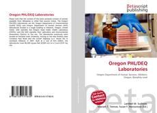 Capa do livro de Oregon PHL/DEQ Laboratories