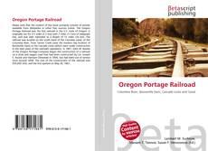 Capa do livro de Oregon Portage Railroad