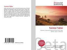 Tarmizi Taher kitap kapağı