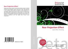 Bookcover of Rear Projection Effect