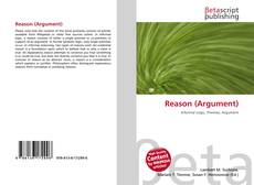 Bookcover of Reason (Argument)
