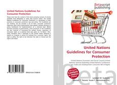 Borítókép a  United Nations Guidelines for Consumer Protection - hoz