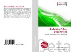 Portada del libro de Rochester Police Department