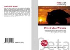 Buchcover von United Mine Workers