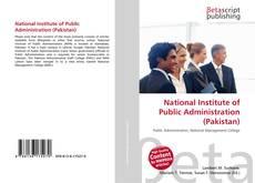 Copertina di National Institute of Public Administration (Pakistan)