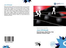 Bookcover of Jan Hřebejk
