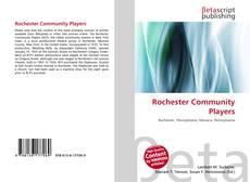 Capa do livro de Rochester Community Players