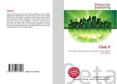 Bookcover of Club 9