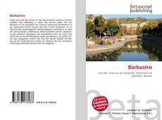 Bookcover of Barbastro