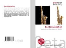 Обложка Baritonsaxophon
