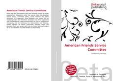 Borítókép a  American Friends Service Committee - hoz
