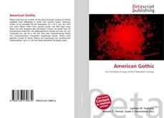 Capa do livro de American Gothic