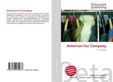 Bookcover of American Fur Company