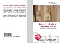 Buchcover von National Institute of Advanced Studies