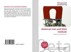 Portada del libro de American Iron and Steel Institute