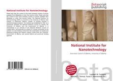 Buchcover von National Institute for Nanotechnology