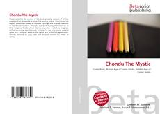 Capa do livro de Chondu The Mystic