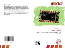 Bookcover of Sabri Kalic