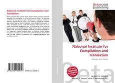 Buchcover von National Institute for Compilation and Translation