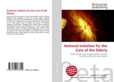 Bookcover of National Initiative for the Care of the Elderly