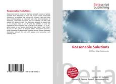 Bookcover of Reasonable Solutions