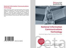Bookcover of National Information Communications Technology