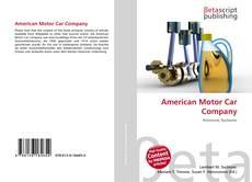 Copertina di American Motor Car Company