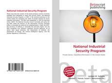 National Industrial Security Program kitap kapağı