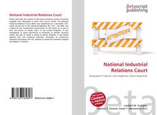 Buchcover von National Industrial Relations Court