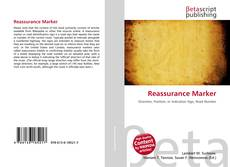 Bookcover of Reassurance Marker