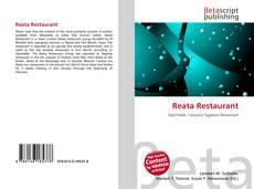 Bookcover of Reata Restaurant