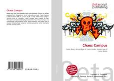 Bookcover of Chaos Campus