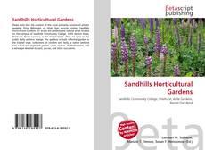 Portada del libro de Sandhills Horticultural Gardens