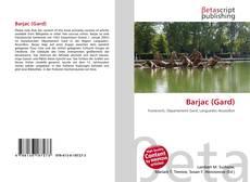 Portada del libro de Barjac (Gard)
