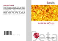 Bookcover of American LaFrance