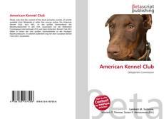 American Kennel Club的封面