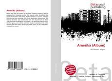 Amerika (Album)的封面