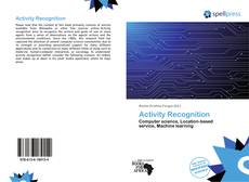 Bookcover of Activity Recognition