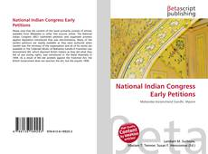 Borítókép a  National Indian Congress Early Petitions - hoz