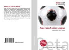 American Soccer League kitap kapağı