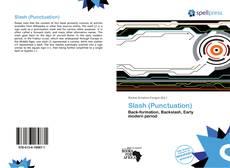 Bookcover of Slash (Punctuation)