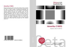 Bookcover of Amerika (1905)