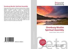 Couverture de Orenburg Muslim Spiritual Assembly