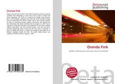 Buchcover von Orenda Fink
