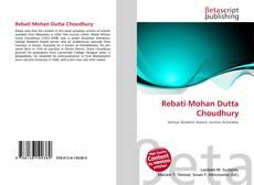 Rebati Mohan Dutta Choudhury的封面