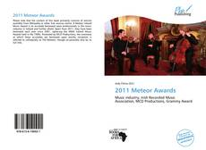 Bookcover of 2011 Meteor Awards