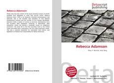 Bookcover of Rebecca Adamson